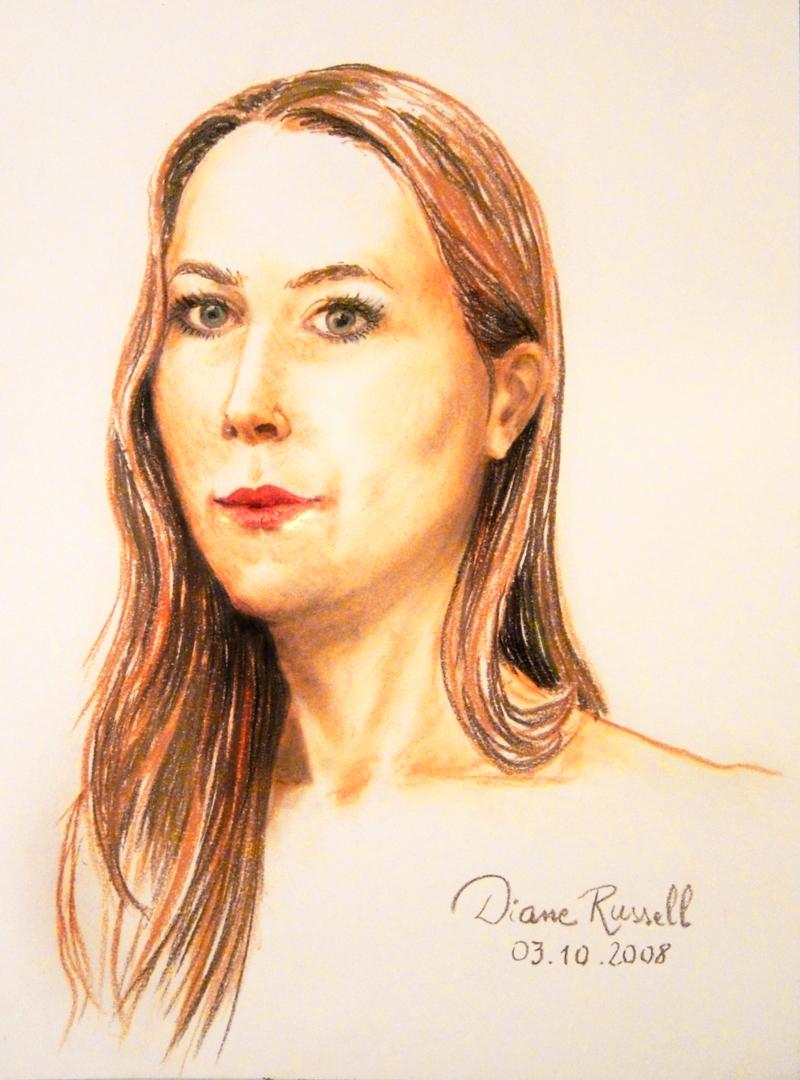 Autoportrait couleur - 3 Octobre 2008